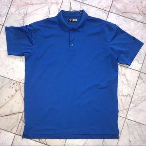 Royal blue Callaway golf polo